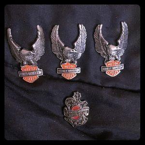 Harley Davidson pins